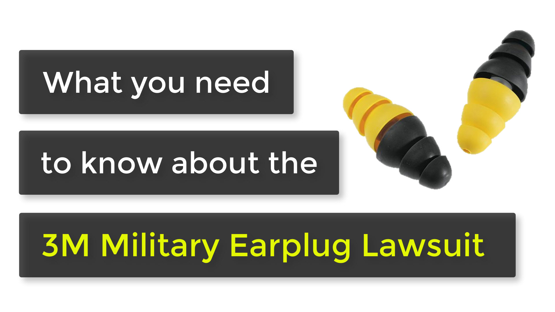 3m military earplug lawsuit